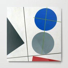 Sophie Taeuber Arp Composition Metal Print