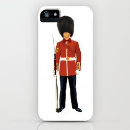 Queen London Guard  iPhone Case