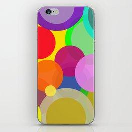 Colorful Circles iPhone Skin