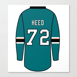Tim Heed Jersey Canvas Print