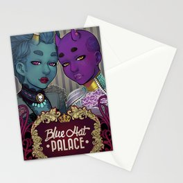 Blue Hat Palace Stationery Cards