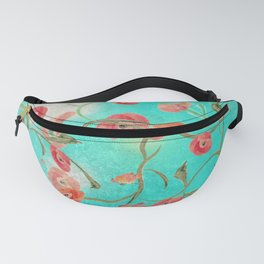 Poppies and Vines Fanny Pack