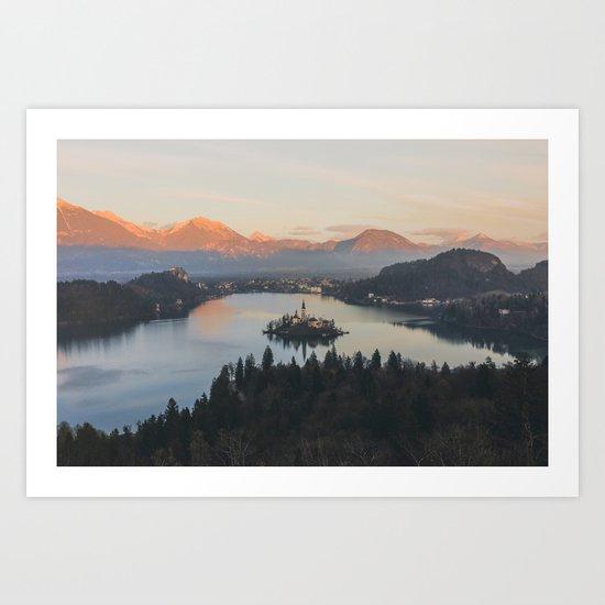 Lake Bled, Slovenia II Art Print