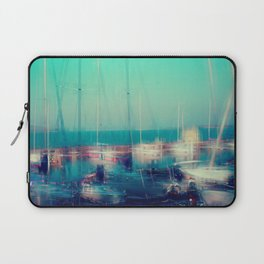 Sailing Harbor at Lake Balaton Laptop Sleeve