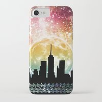 moonrise iPhone & iPod Cases featuring Moonrise by Jenndalyn
