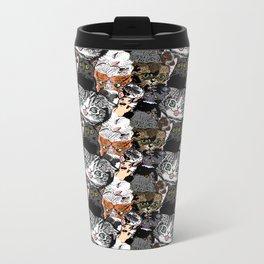 Derp Cats Metal Travel Mug
