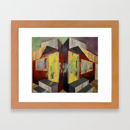 My Home, Your Home Framed Art Print