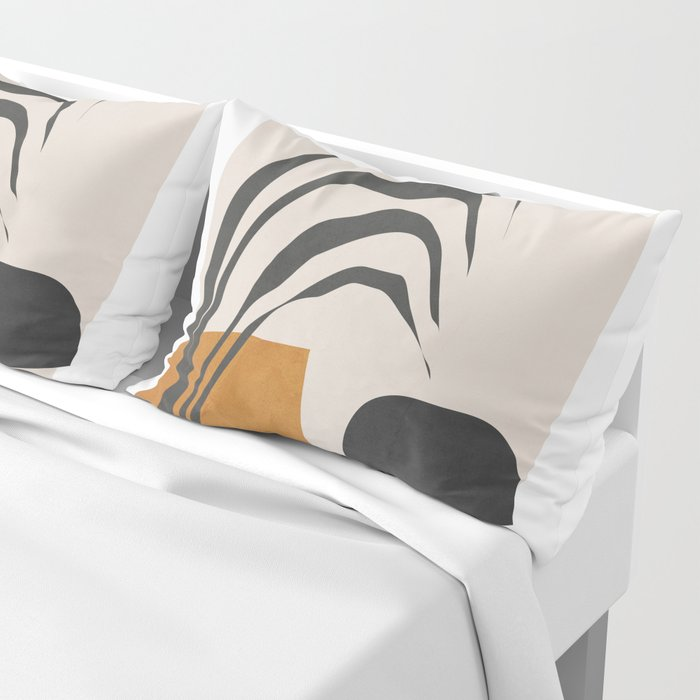 Abstract Shapes 3 Pillow Sham