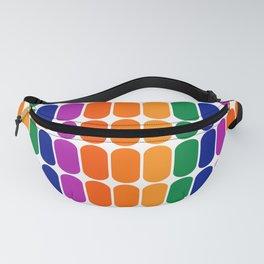Rainbow Capsule Fanny Pack