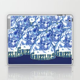 GRIZZLIES HAND-DRAWING DESIGN Laptop & iPad Skin