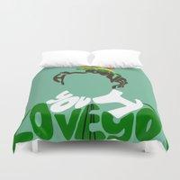 elf Duvet Covers featuring elf by pokegirl93