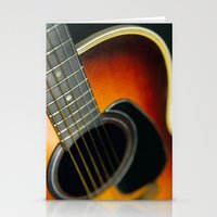 guitar Stationery Cards featuring Guitar by Bruce Stanfield