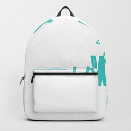I know i running like an old woman try to keep up tee Backpack