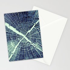 Abstract Bark Stationery Cards