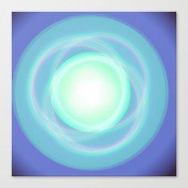 Blue sky boreal Canvas Print