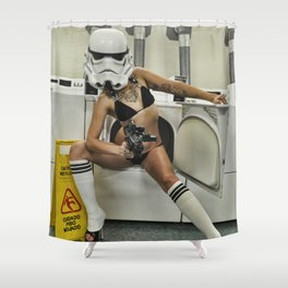 Coco Trooper Shower Curtain