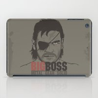 metal gear solid iPad Cases featuring Metal Gear Solid V: Ground Zeroes by Akyanyme