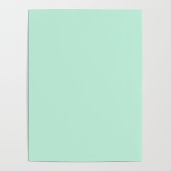 Mint Green Poster