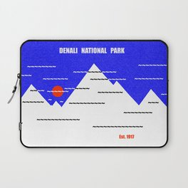 Denali National Park Laptop Sleeve