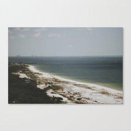 on the coast of florida Canvas Print