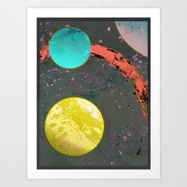 Dust 05 - Post Biological Universe Art Print