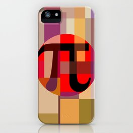 Geometric Pi  iPhone Case
