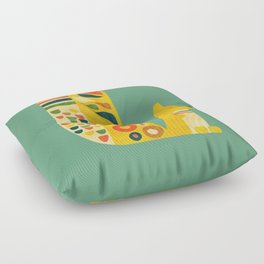 Century Squirrel Floor Pillow
