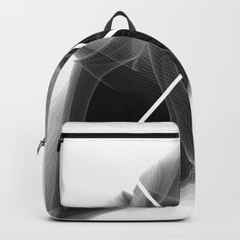 Typographic Treatment of the letter X. Dark Math X. Backpack