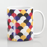 scales Mugs featuring Scales by Daisho