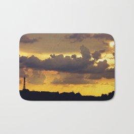 Sunset over Paris Bath Mat
