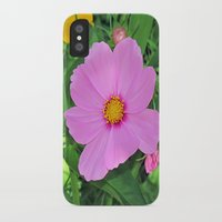 cosmos iPhone & iPod Cases featuring Cosmos by Bella Mahri-PhotoArt By Tina