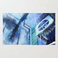 metroid Area & Throw Rugs featuring Metroid: ARC by FirebornForm