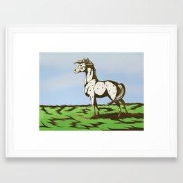 The Next Stallion Framed Art Print