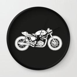 Triumph Bonneville - Cafe Racer series #3 Wall Clock