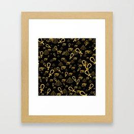 Kemetic Print Framed Art Print