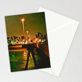 Venice Beach Night Stationery Cards