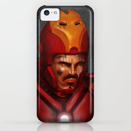 THE FACE COLLECTION - IRON MAN iPhone Case