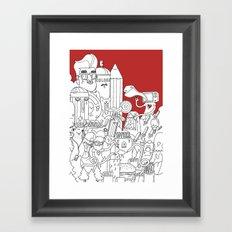 Citylife Framed Art Print