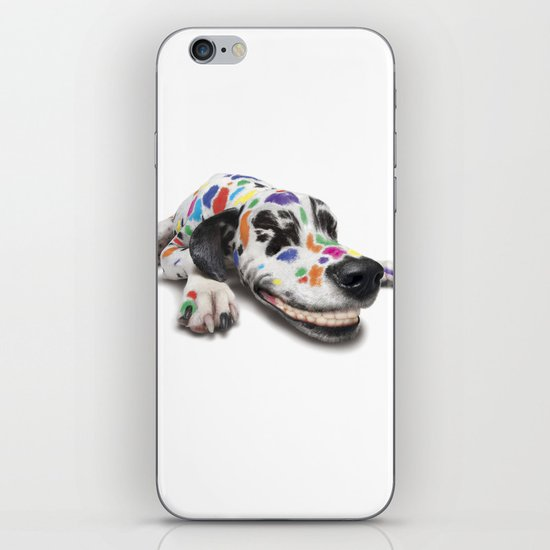 Spotted dog iPhone & iPod Skin