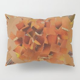 """""""The Hot Energy"""" Ecologic atypic art - 1/3 - by WHITEECO Ecologic design Pillow Sham"""