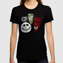 Kidnap Mr Sandy Claws? T-shirt