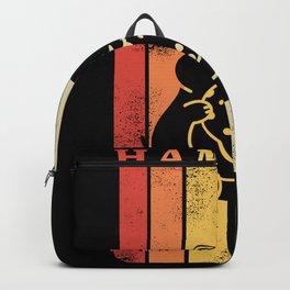 Retro Hamster | Gift for Rodent Owner Backpack