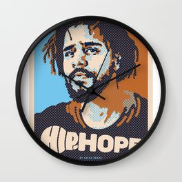 Mr.Cole ( HIP-HOPE Series ) Wall Clock