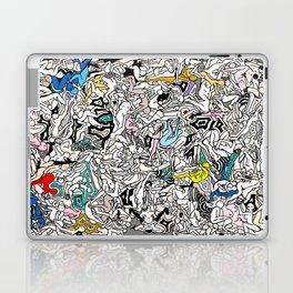 Kamasutra LOVE Doodle Closeup Color Valentine Laptop & iPad Skin