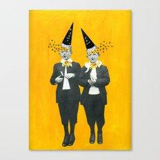 Openheads Canvas Print
