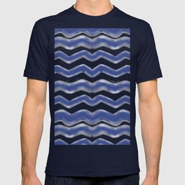 Shibori Waves #society6 #shibori T-shirt