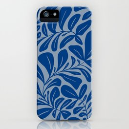 Tropic Classic Blue iPhone Case