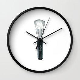 FASHION ILLUSTRATION Makeup Print,Makeup Art,Bursh Print,Home is where your makeup stash is,Fashion Wall Clock