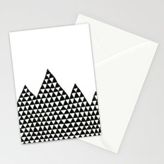 Triangle Peaks Stationery Cards
