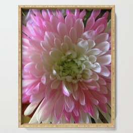 Chrysanthemum Serving Tray